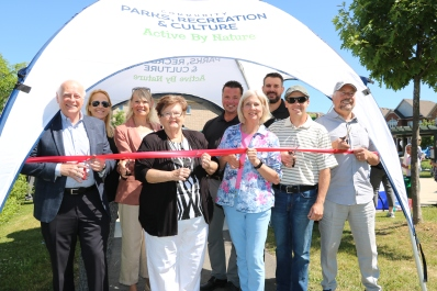 peggy's woods trail opening